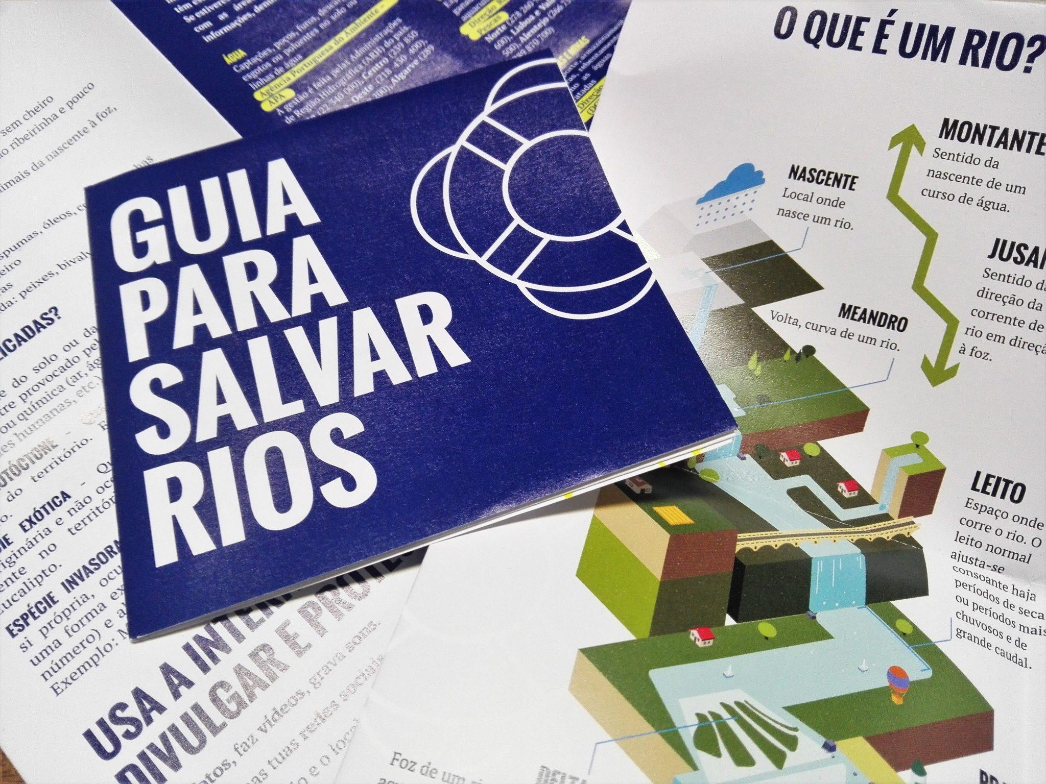 Guia para Salvar Rios lançado nas escolas de Amarante