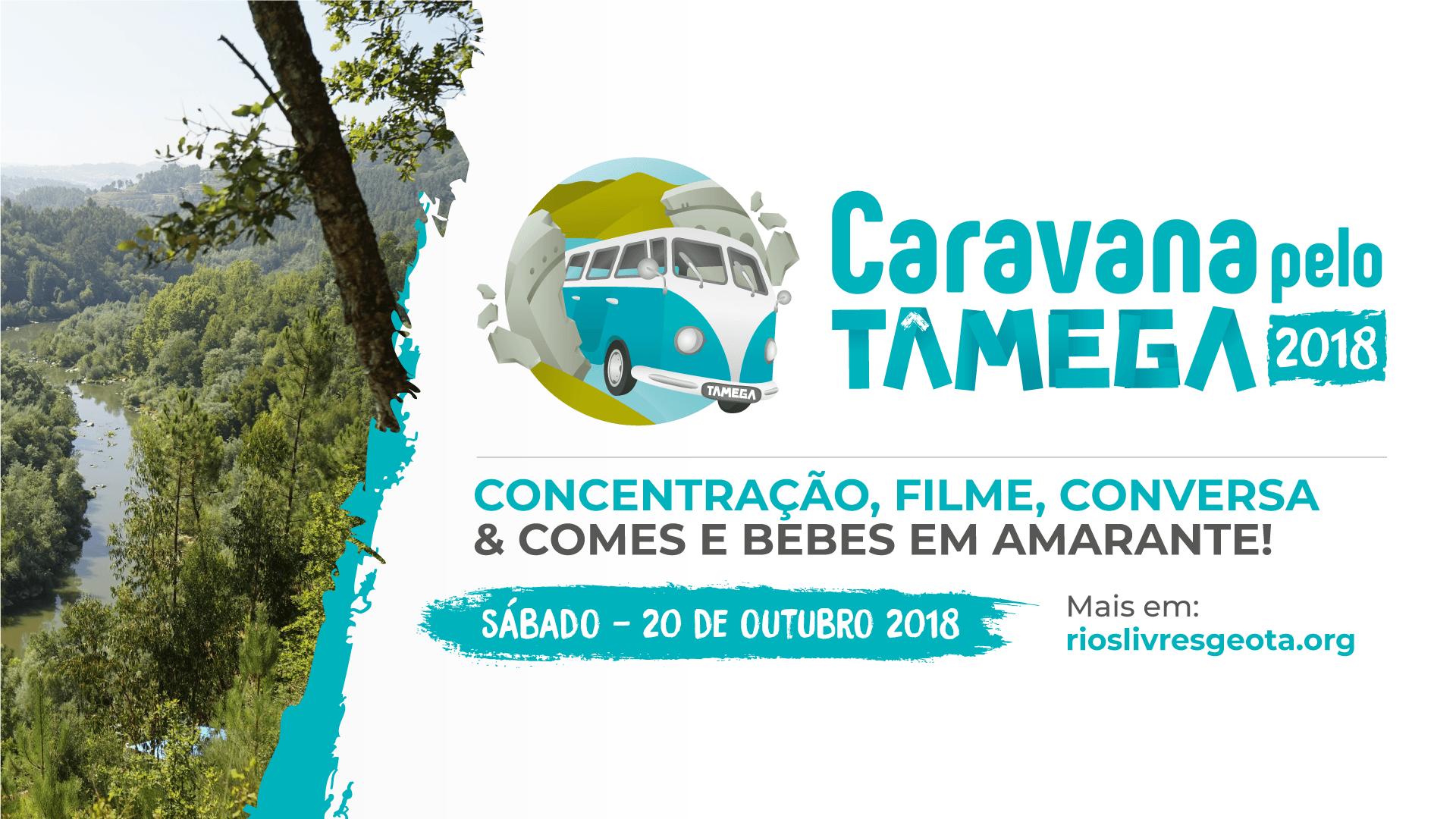 Chegou a CARAVANA Pelo Tâmega 2018