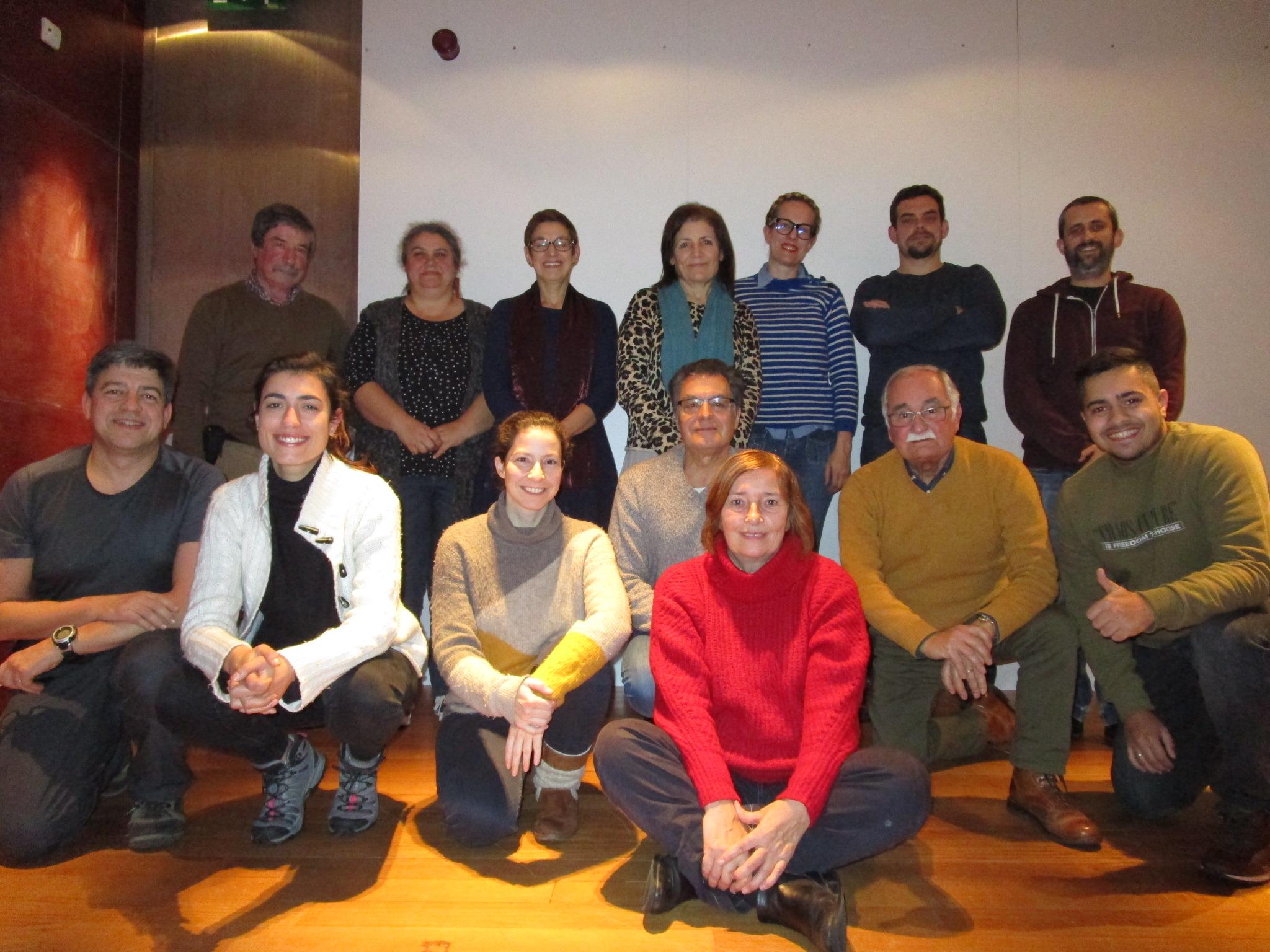 Jornalistas estrangeiros, GEOTA e ativistas locais encontram-se para falar de FRIDÃO