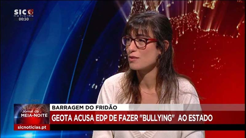 Bullying da EDP sobre barragem de Fridão