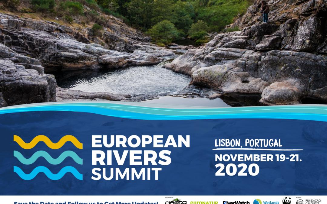 European Rivers Summit 2020 will be in Lisbon