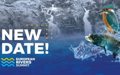 Cimeira Europeia dos Rios adiada para Maio 2021 devido ao Coronavírus