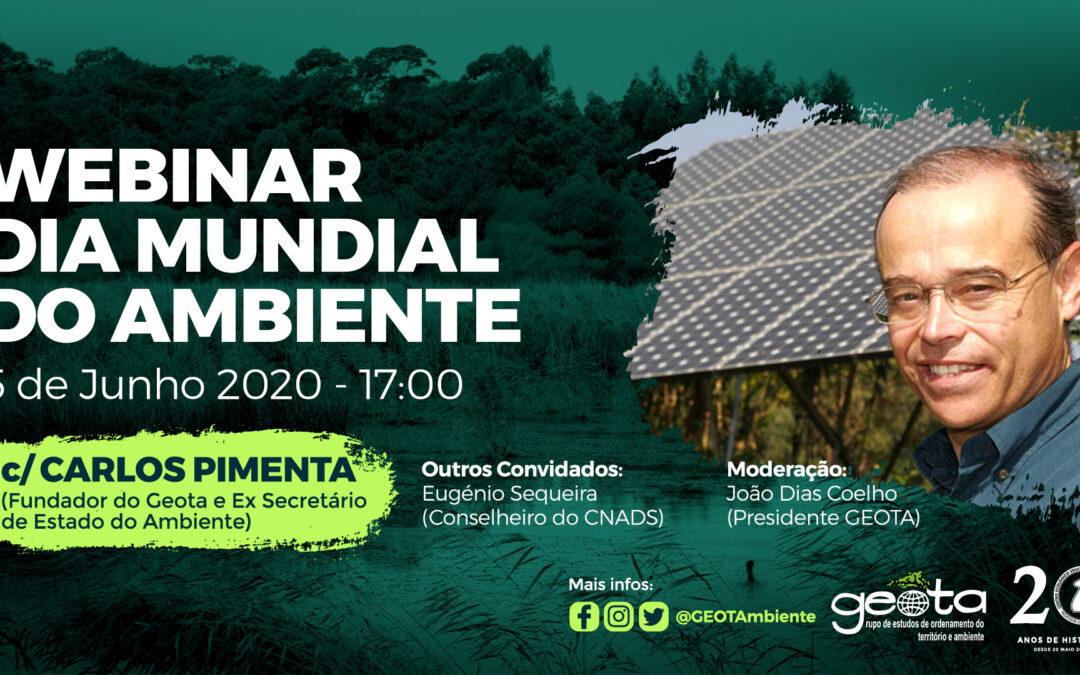 WEBINAR Dia Mundial do Ambiente no GEOTA com Carlos Pimenta